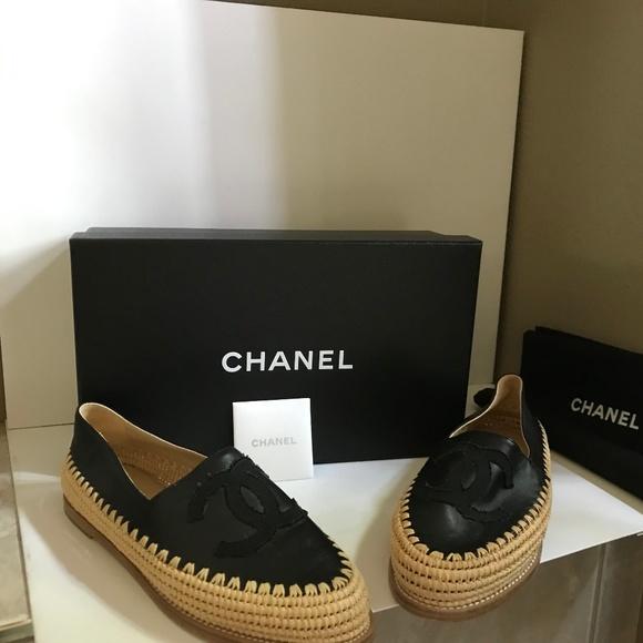 CHANEL Shoes   Chanel Black Lambskin